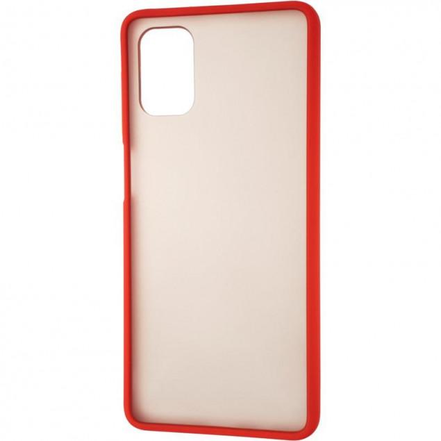 Gelius Bumper Mat Case for Samsung M515 (M51) Red