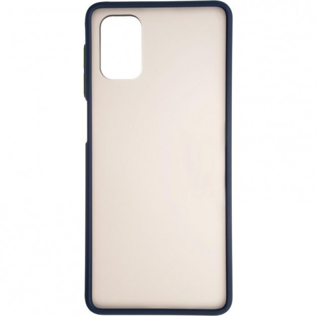 Gelius Bumper Mat Case for Samsung M515 (M51) Blue