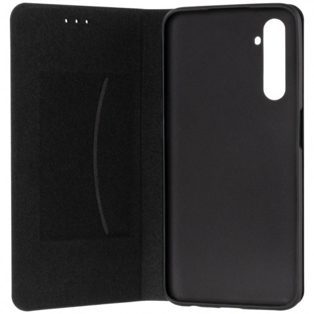 Book Cover Leather Gelius New for Realme 6 Black