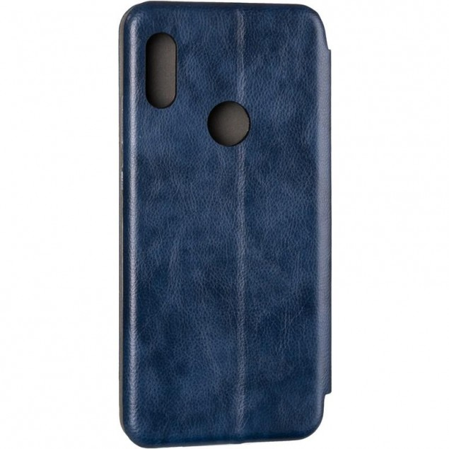Book Cover Leather Gelius for Huawei Y6s/Y6 Prime (2019)/Honor 8a Blue