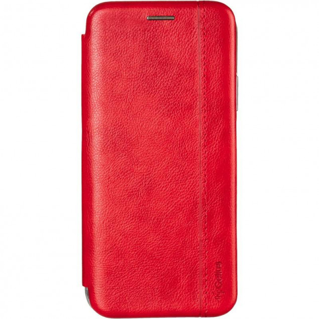 Book Cover Leather Gelius for Huawei P40 Lite Red