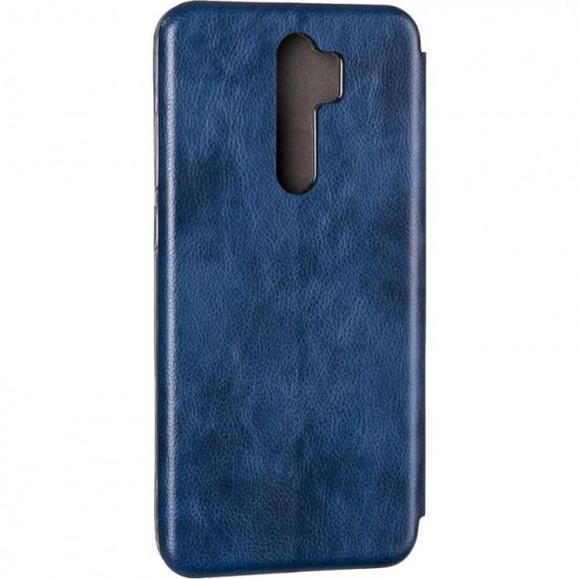 Book Cover Leather Gelius for Xiaomi Redmi Note 8 Pro Blue