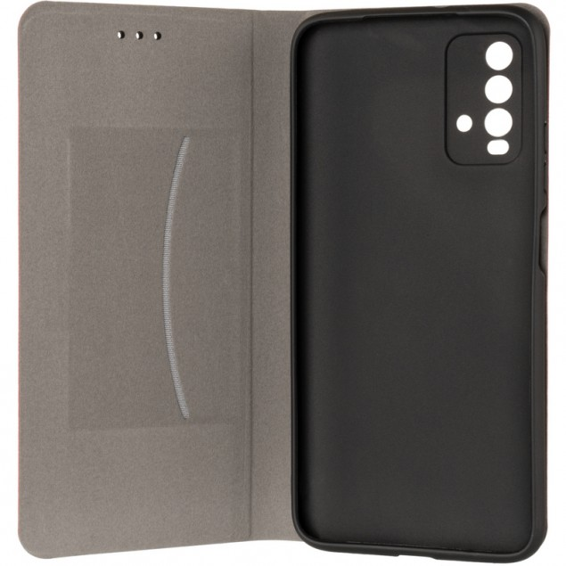Book Cover Leather Gelius New for Xiaomi Redmi 9T Red