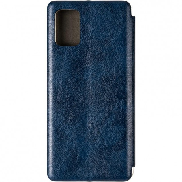 Book Cover Leather Gelius for Samsung A715 (A71) Blue