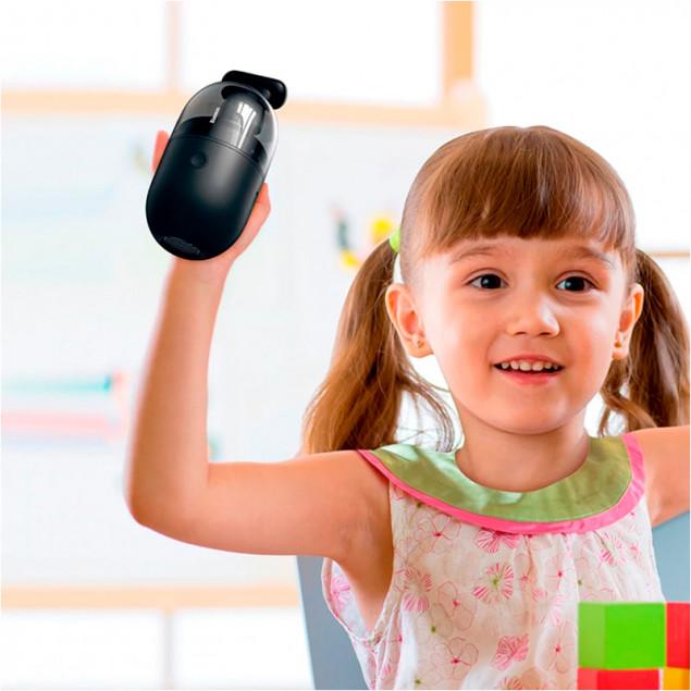Baseus Desktop Capsule Vacuum Cleaner C2 (CRXCQC2-01) Black (Портативный пылесос)