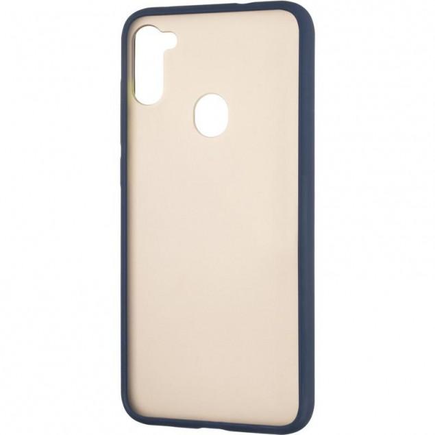 Gelius Bumper Mat Case for Samsung A115 (A11) Blue