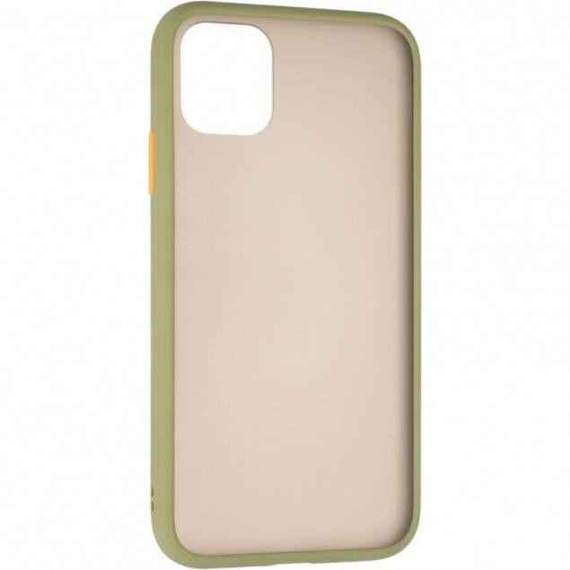 Gelius Bumper Mat Case for iPhone 11 Green