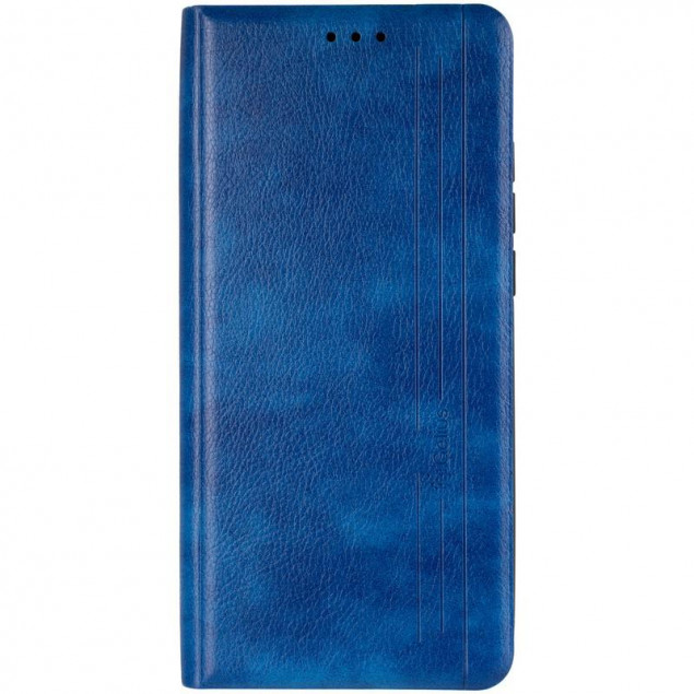 Book Cover Leather Gelius New for Xiaomi Mi 10 Ultra Blue