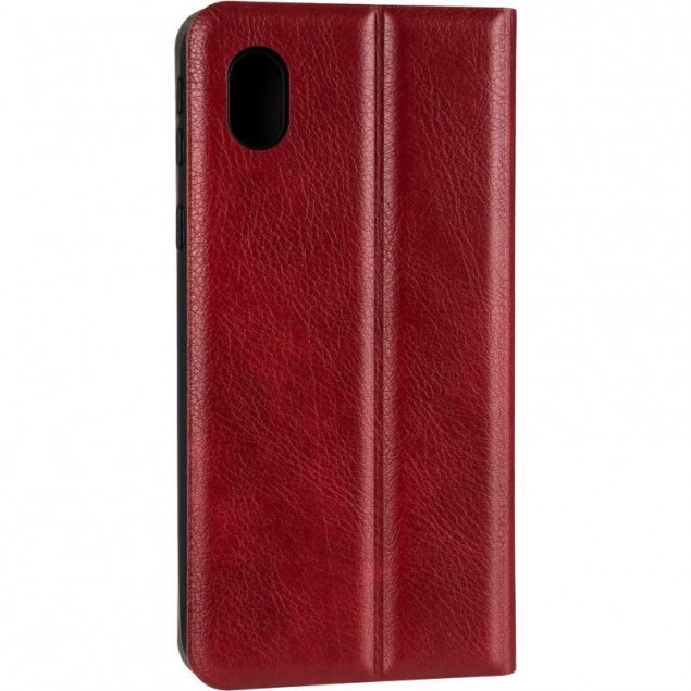 Book Cover Leather Gelius New for Samsung A013 (A01 Core) Red