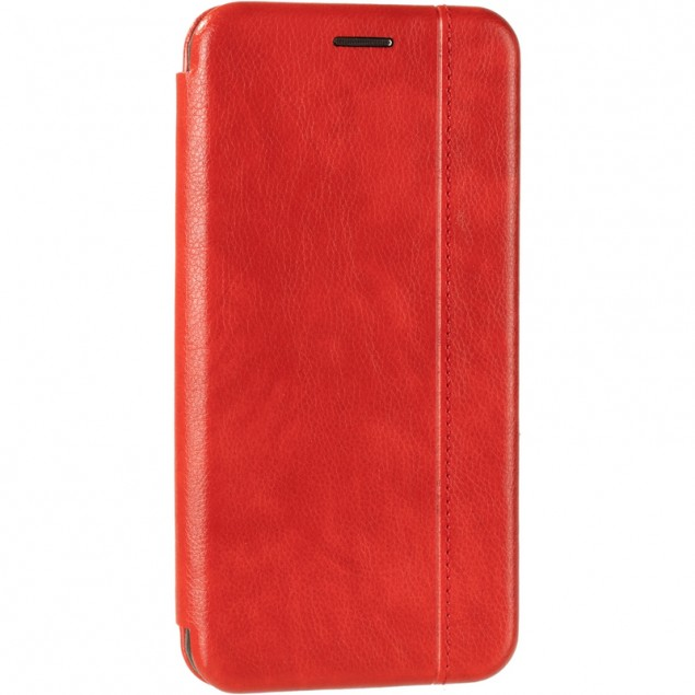Book Cover Leather Gelius for Samsung G973 (S10) Red