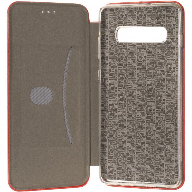 Book Cover Leather Gelius for Samsung G975 (S10 Plus) Red