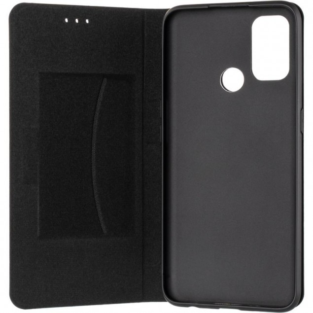 Book Cover Leather Gelius New for Oppo A32/A53 Black