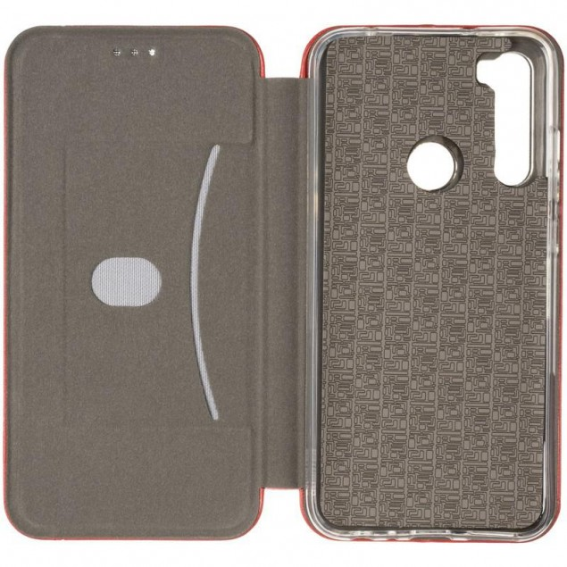 Book Cover Leather Gelius for Xiaomi Redmi Note 8 Red
