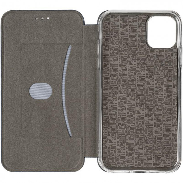 Book Cover Leather Gelius for iPhone 11 Blue