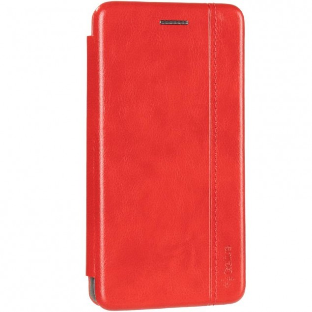 Book Cover Leather Gelius for Samsung A013 (A01 Core) Red