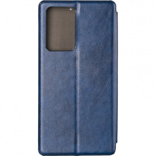 Book Cover Leather Gelius for Samsung N985 (Note 20 Ultra) Blue