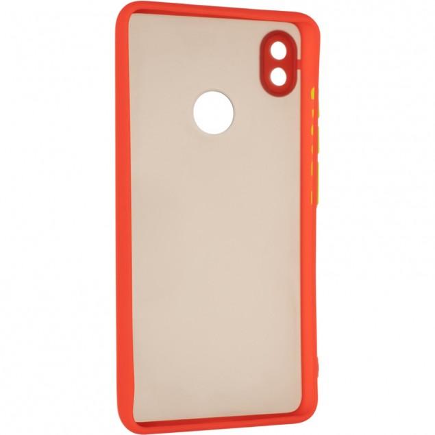 Gelius Bumper Mat Case for Tecno Pop 3 Red