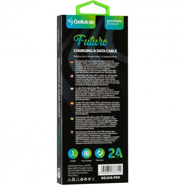 Cable Gelius Pro Future GP-UTL02 Type-C/Lightning Black