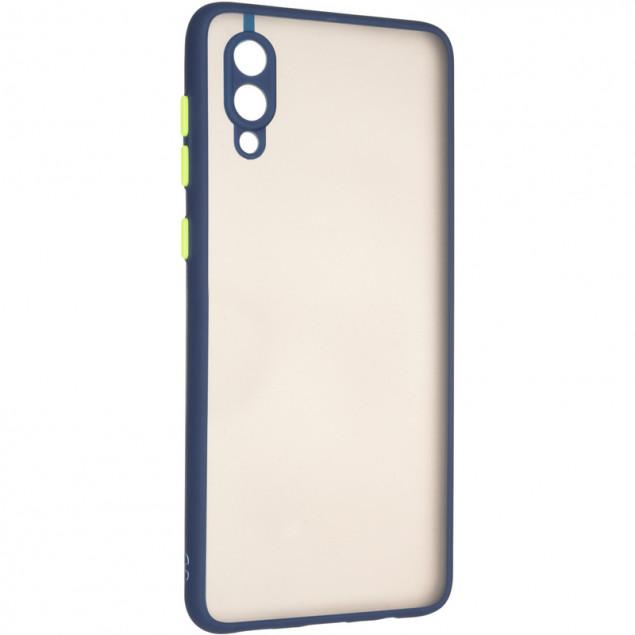 Gelius Bumper Mat Case for Samsung A022 (A02) Blue