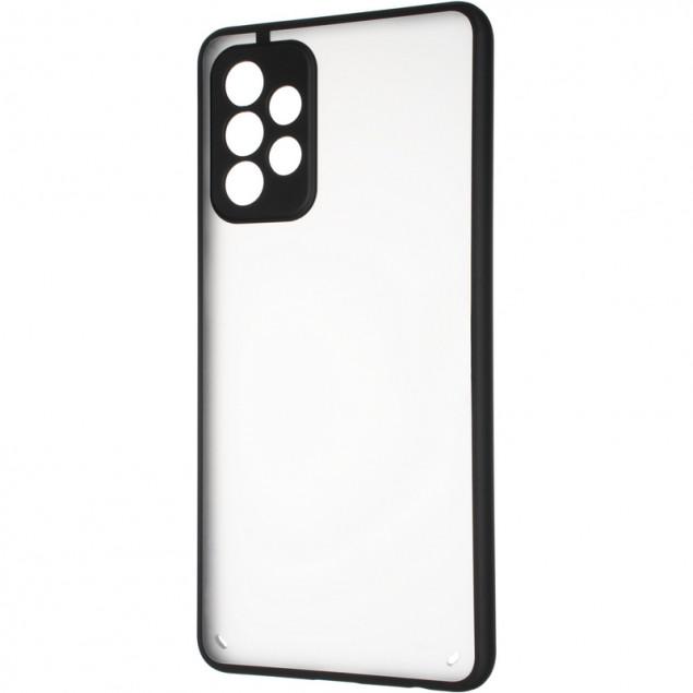 Gelius Bumper Mat Case New for Samsung A725 (A72) Black