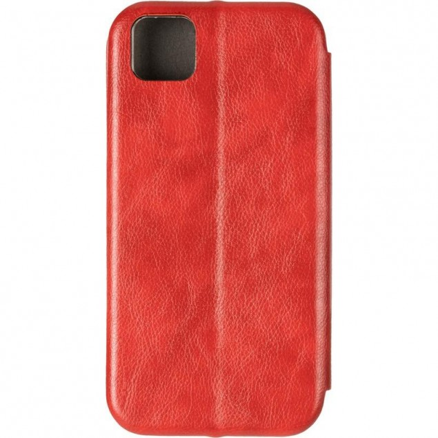 Book Cover Leather Gelius for Huawei Y5P Red