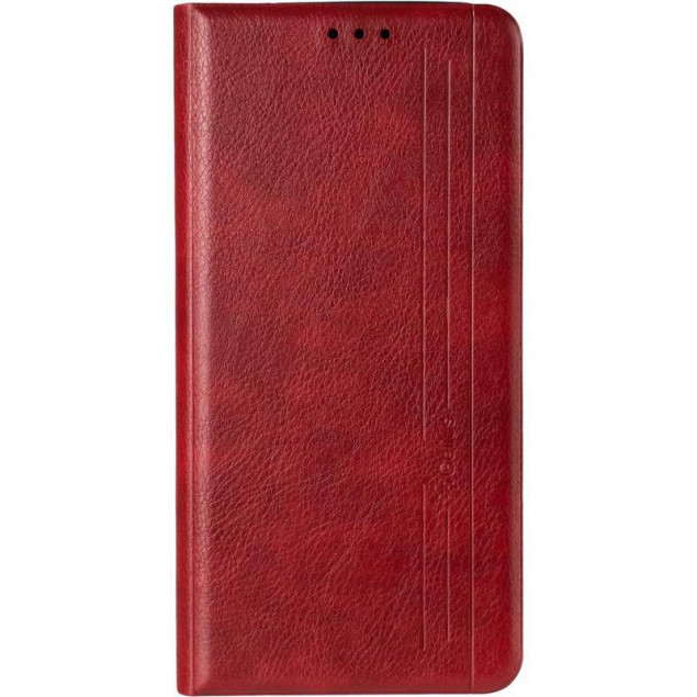 Book Cover Leather Gelius New for Samsung M315 (M31) Red
