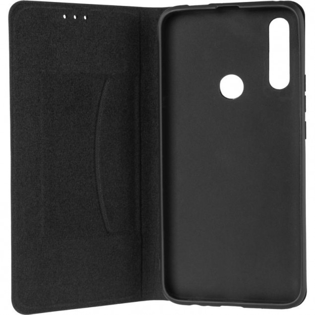 Book Cover Leather Gelius New for Huawei P Smart Z Black