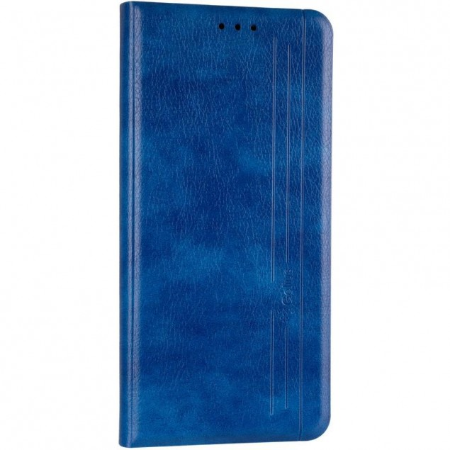 Book Cover Leather Gelius New for Samsung M317 (M31s) Blue