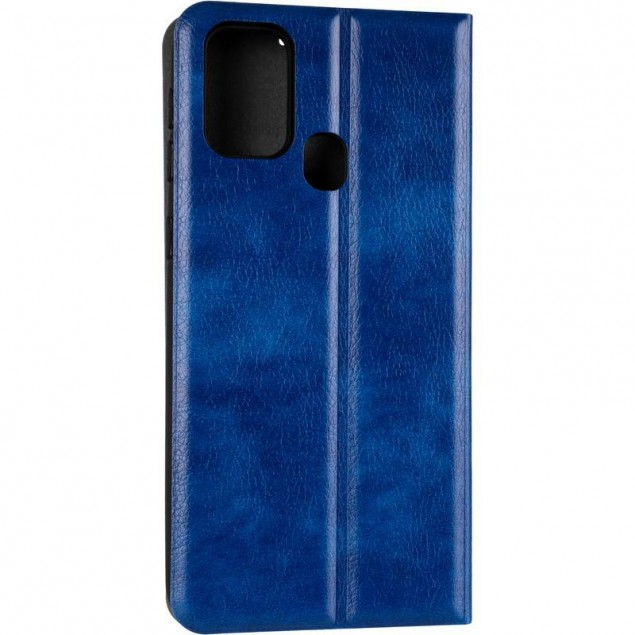 Book Cover Leather Gelius New for Samsung M315 (M31) Blue