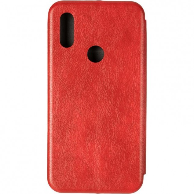 Book Cover Leather Gelius for Xiaomi Redmi 7 Red