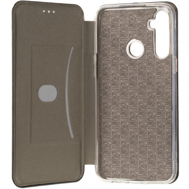 Book Cover Leather Gelius for Realme C3 Black