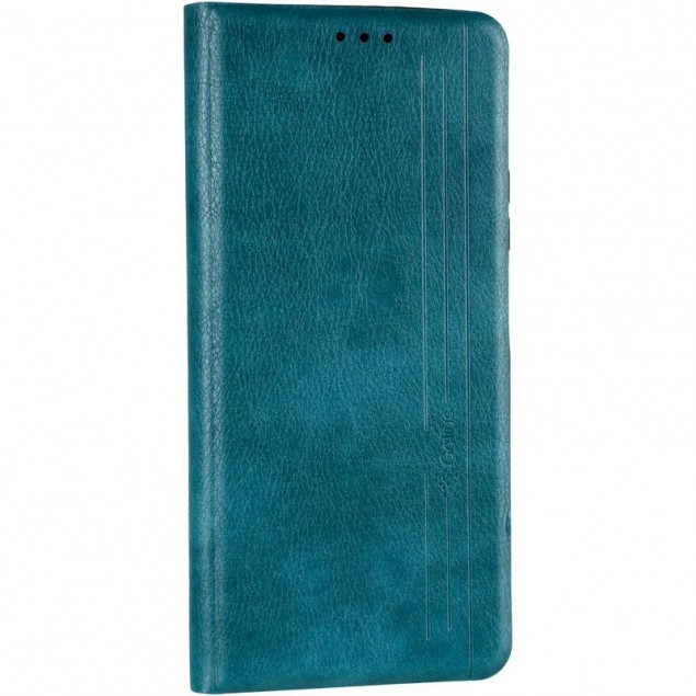 Book Cover Leather Gelius New for Huawei P Smart (2021) Green