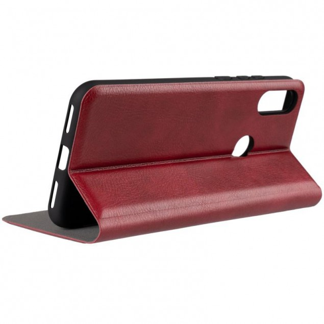 Book Cover Leather Gelius New for Huawei Y6s/Y6 Prime (2019)/Honor 8a Red