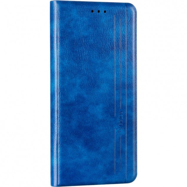 Book Cover Leather Gelius New for Samsung A025 (A02s) Blue