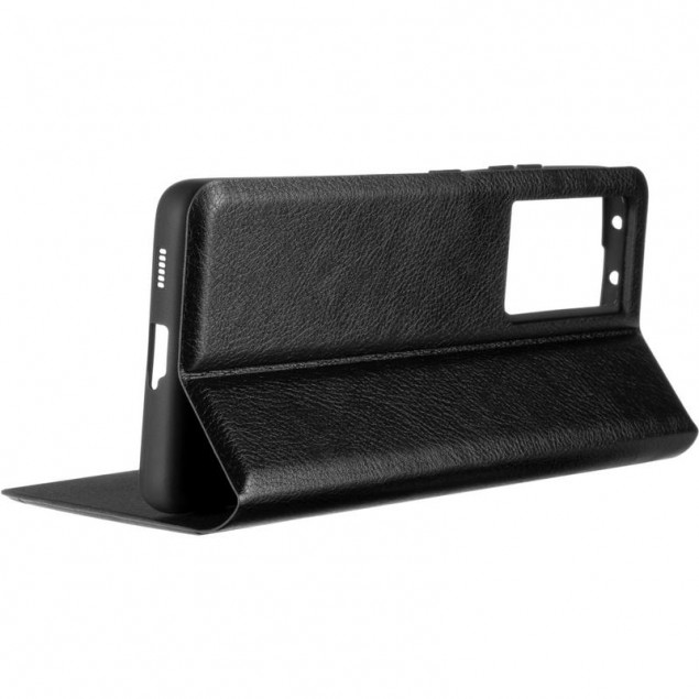 Book Cover Leather Gelius New for Samsung G998 (S21 Ultra) Black
