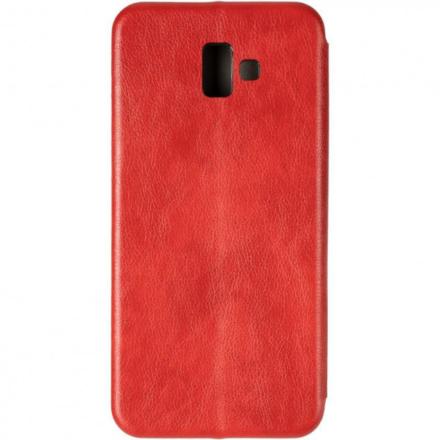 Book Cover Leather Gelius for Samsung J610 (J6 Plus) Red