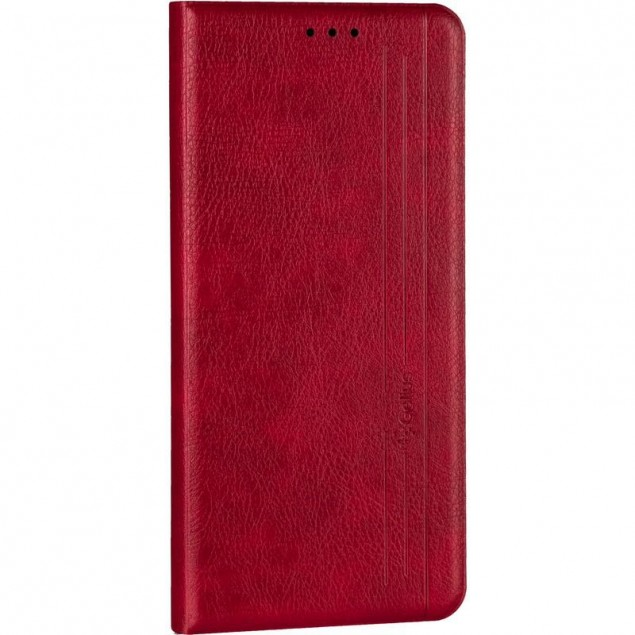 Book Cover Leather Gelius New for Samsung M515 (M51) Red