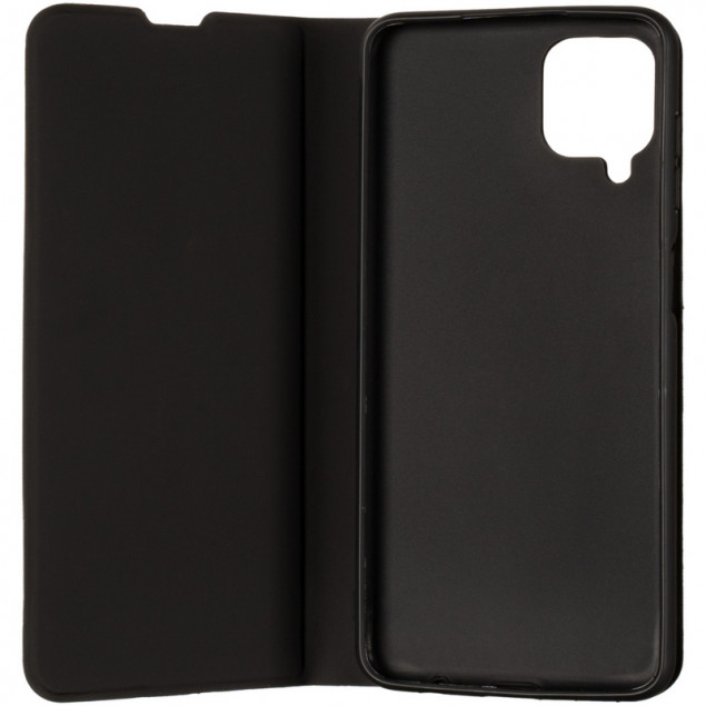 Book Cover Gelius Shell Case for Samsung A125 (A12)/M127 (M12) Black