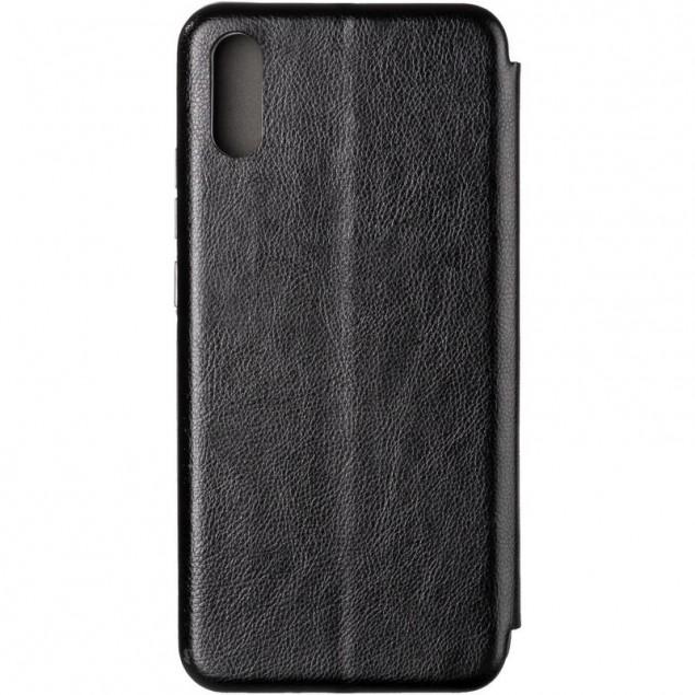 Book Cover Leather Gelius for Xiaomi Redmi 9a Black