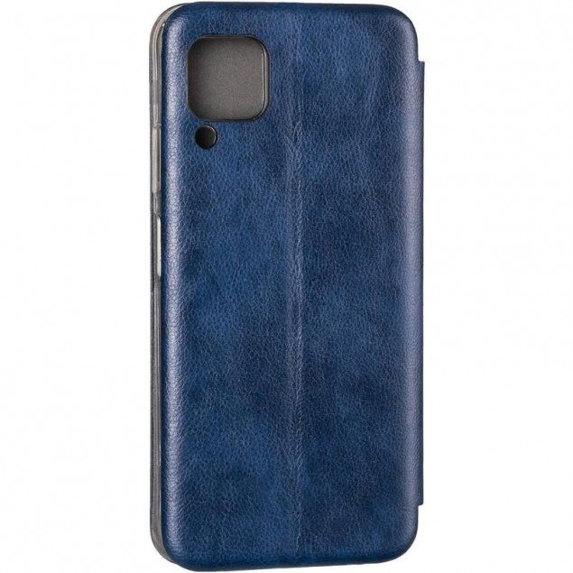 Book Cover Leather Gelius for Huawei P40 Lite Blue