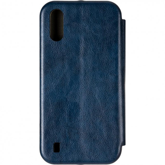 Book Cover Leather Gelius for Samsung A015 (A01)/M015 (M01) Blue