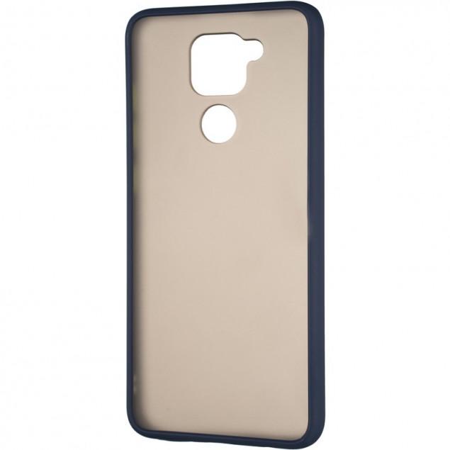 Gelius Bumper Mat Case New for Xiaomi Redmi Note 10 Blue