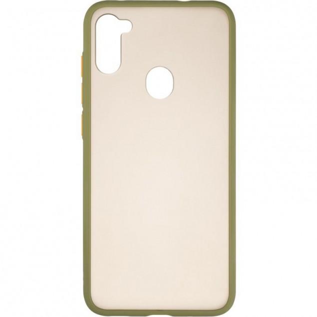 Gelius Bumper Mat Case for Samsung A115 (A11) Green