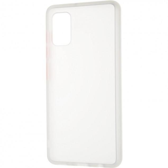 Gelius Bumper Mat Case for Samsung A415 (A41) White