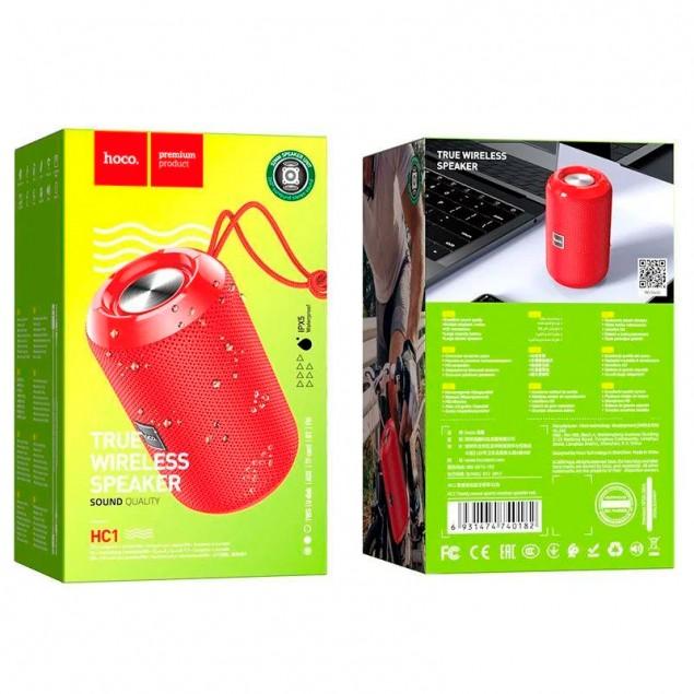 Bluetooth Speaker Hoco HC1 Red
