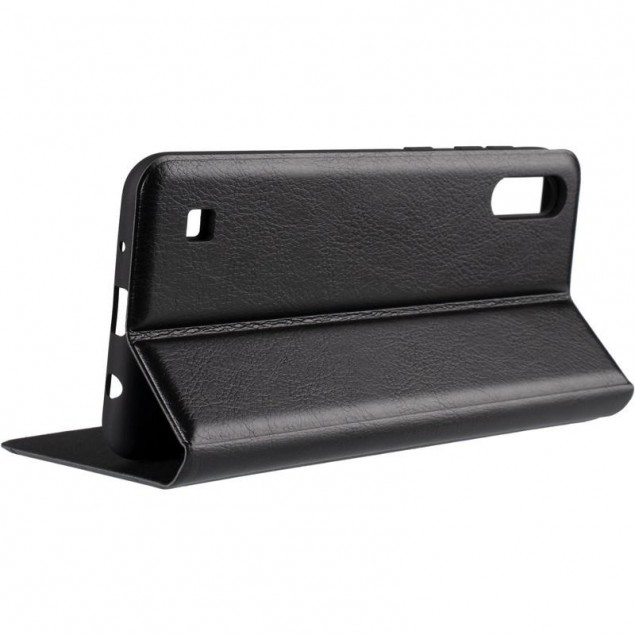 Book Cover Leather Gelius New for Samsung M105 (M10) Black
