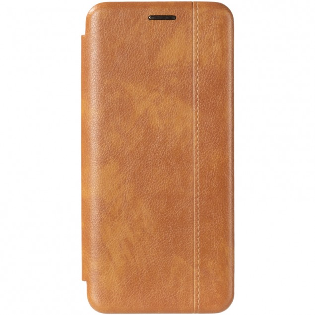 Book Cover Leather Gelius for Samsung G975 (S10 Plus) Gold