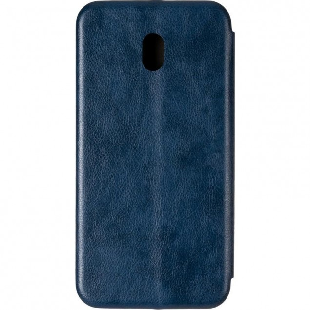 Book Cover Leather Gelius for Xiaomi Redmi 8a Blue