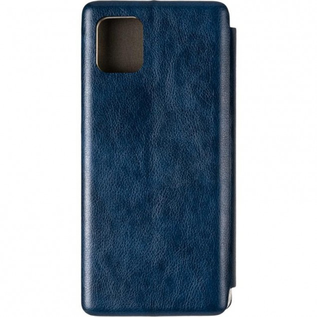 Book Cover Leather Gelius for Samsung N770 (Note 10 Lite) Blue