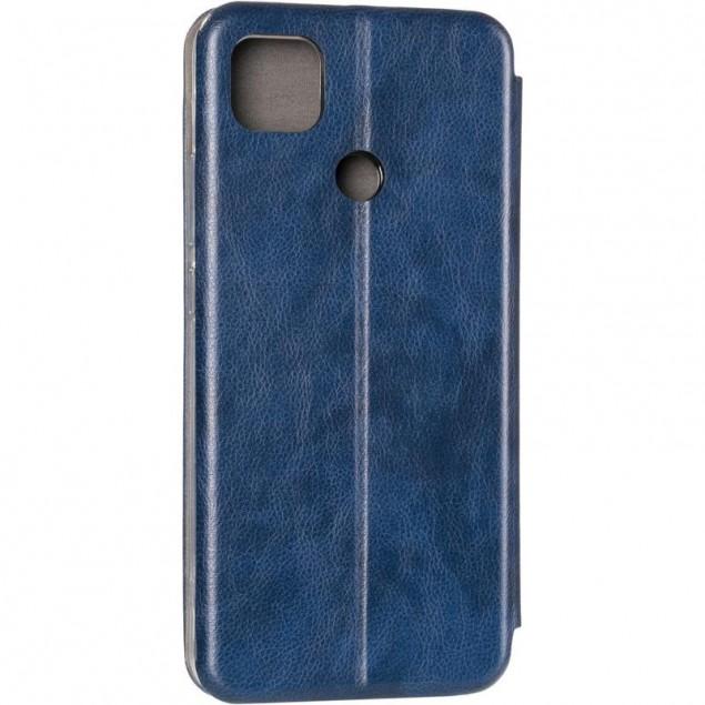 Book Cover Leather Gelius for Xiaomi Redmi 9c Blue